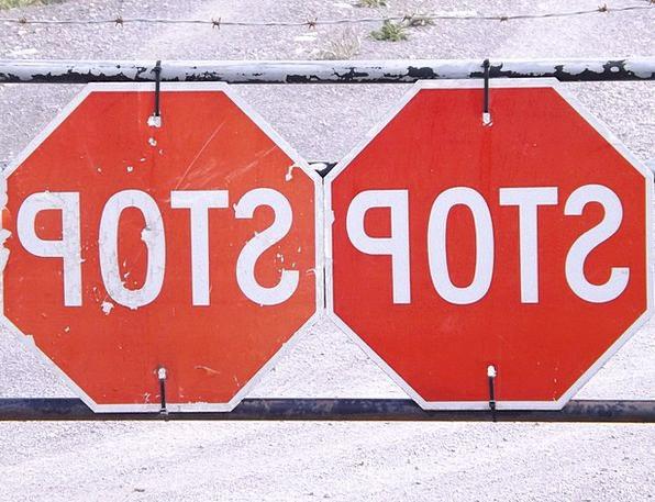 Stop Traffic Transportation Road Sign Halt Signal
