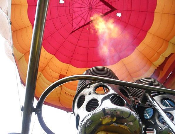 Hot Warm Midair Balloon Inflatable Air Flames Fire