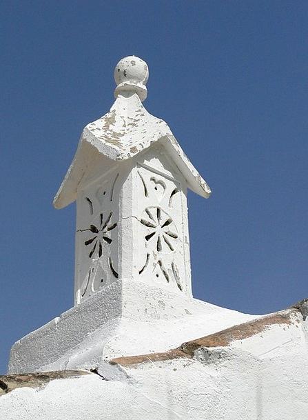 Chimney Funnel Tavira Algarve