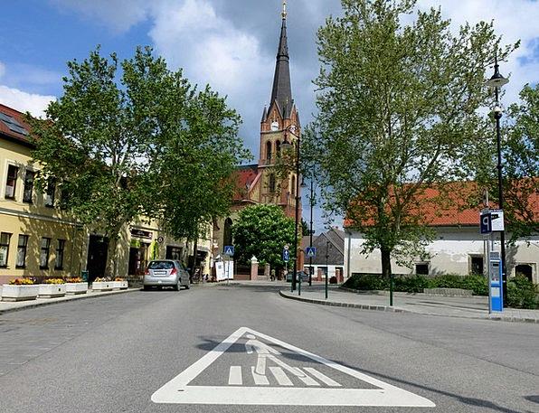 Church Ecclesiastical Ráckeve Csepel Zebra Gyalogá