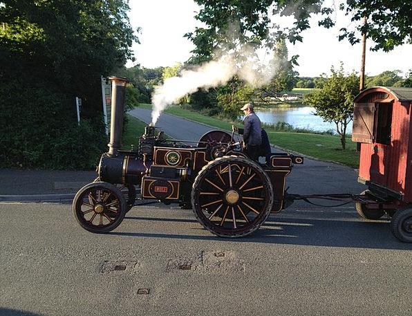 England Monuments Train Places Steam Vapor Steam E