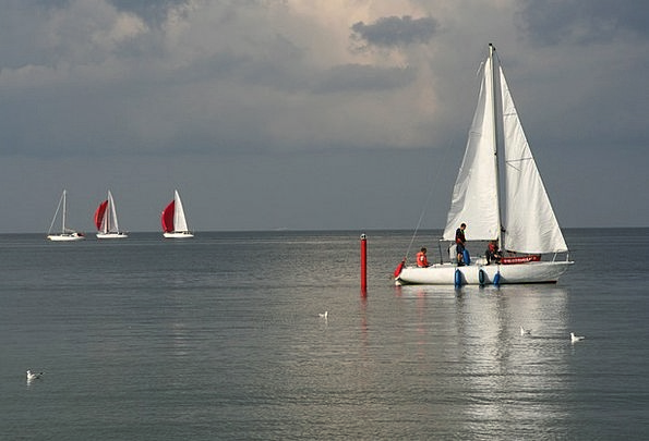 Gda?sk Sea Marine Baltic Sea Sailing Boats Poland