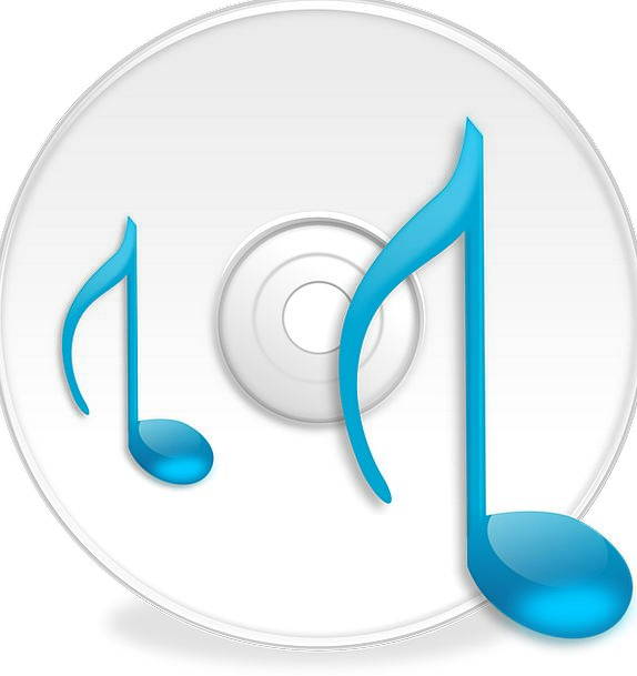 Music Melody Compact Disc Cd Data Circular Round D