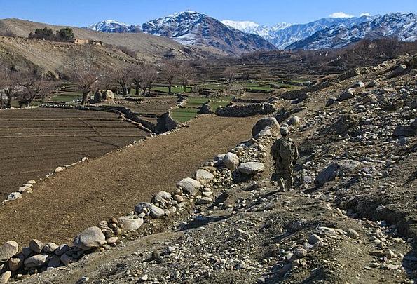 Afghanistan Landscapes Fighter Nature Military Sol