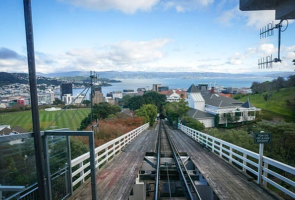 New Zealand Buildings Architecture Cable Car Welli