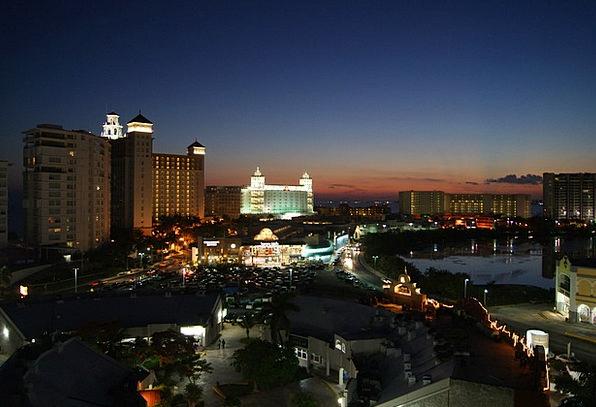 Sunset Sundown Vacation Travel Sea Marine Cancun E