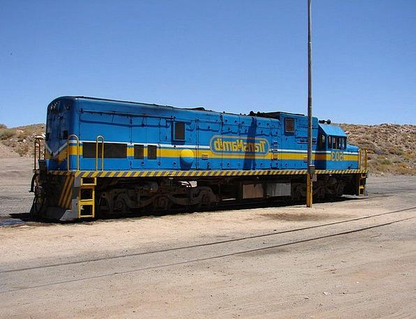 Namibia Train Railway Locomotive