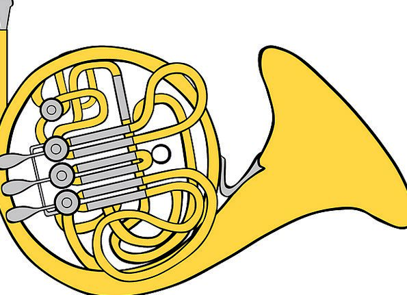 French Siren Musical Melodic Horn Instrument Tool