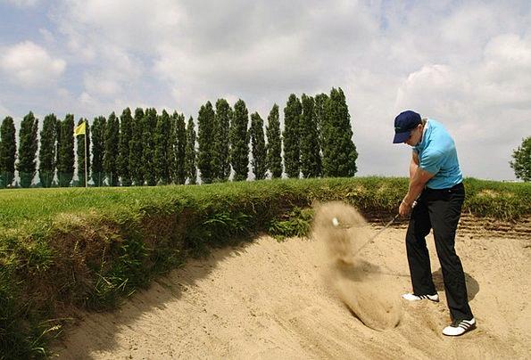 Golf Shelter Sport Diversion Bunker Golf Course Sa