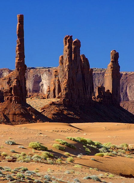 Monument Valley Landscapes Barbicans Nature Rocky