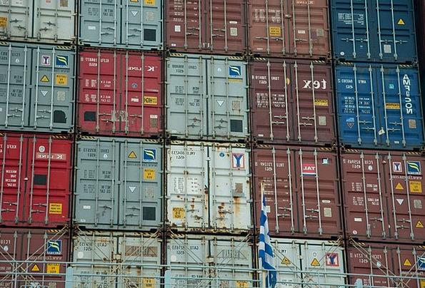 Container Ampule Harbor Hamburg Port