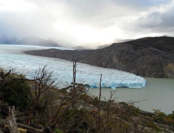 Glacier Gray Torres Del Paine Chile National Park