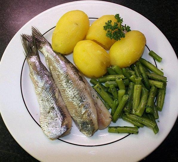 Herring Drink Food Fish Angle Maties Edible Potato