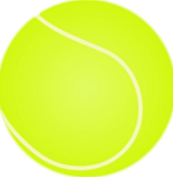 Tennis Ball Sphere Tennis Ball Yellow Creamy Activ