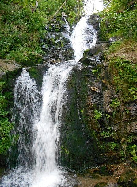 Waterfall Cascade Pillar Water Aquatic Rock Flow M