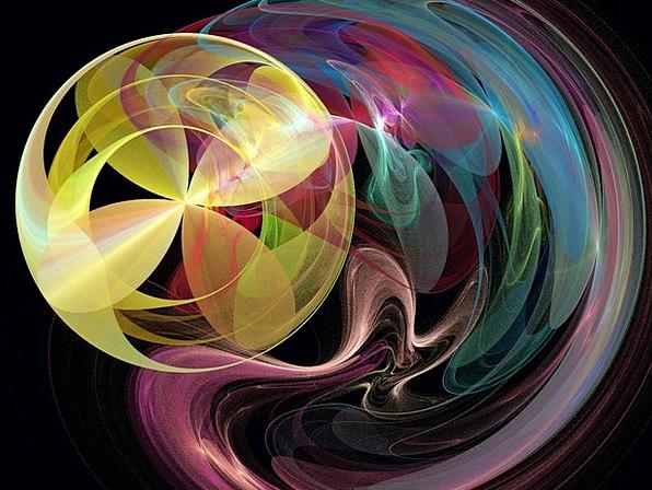 Fractal Rainbow Multicolored Fractals Colours Imag