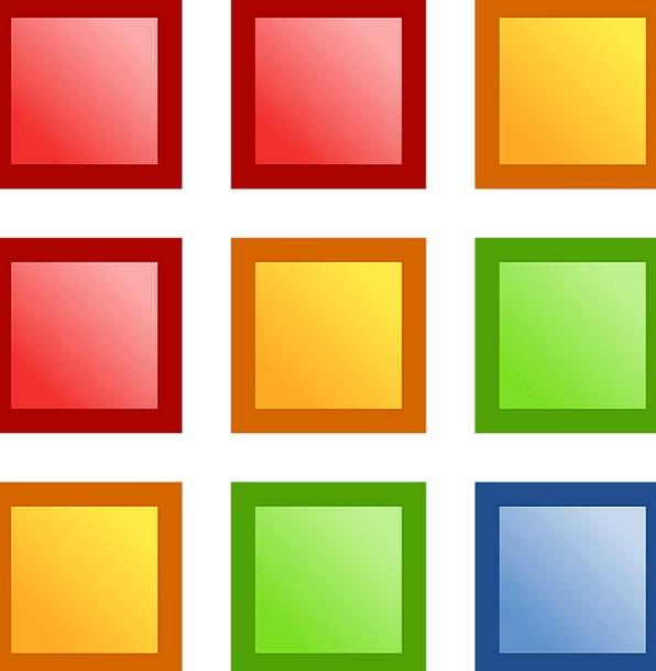 Squares Quadrangles Forms Colorful Interesting Sha