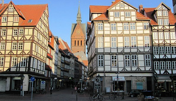 Hanover Germany Old Town