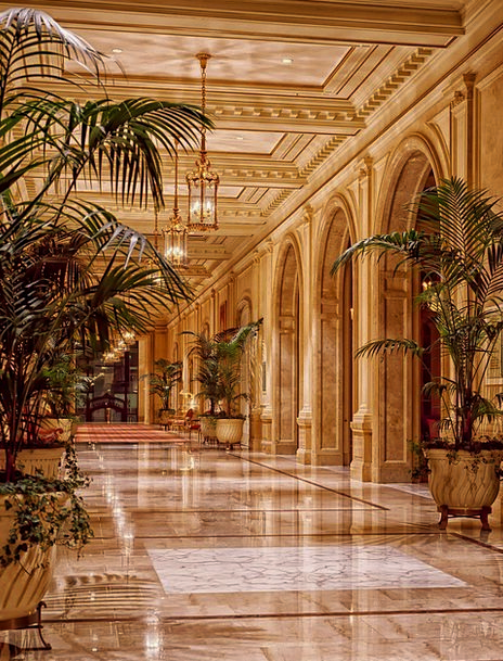 Sheraton Palace Hotel Buildings Foyer Architecture