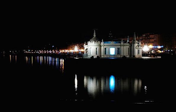 Night Nightly Buildings Likeness Architecture Pala