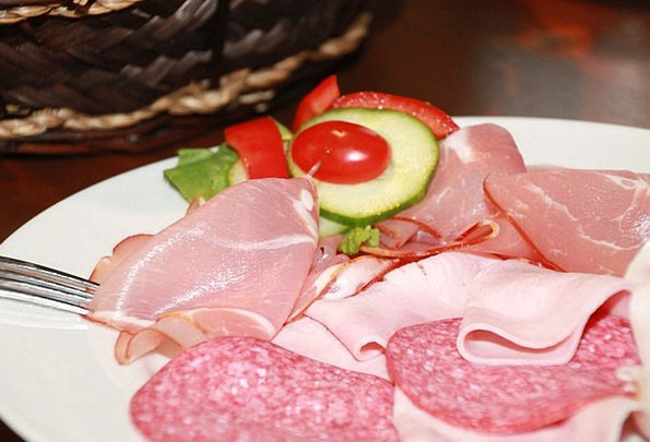 Sausage Drink Food Wurstplatte Sausage Dish Cut Ea