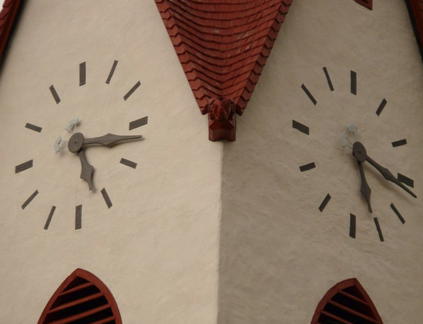Time Of Clock Timepiece Church Clock Time Period S