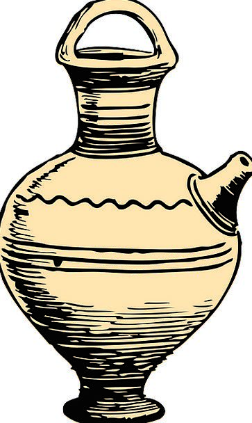 Pot Vessel Ampule Ancient Antique Container Cerami
