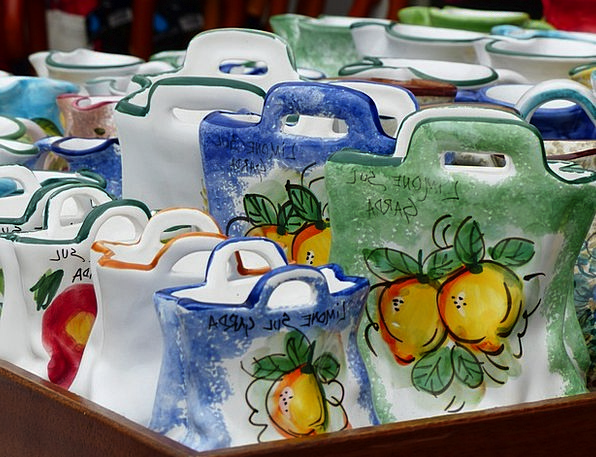 Bags Belongings Earthenware Porcelain China Cerami