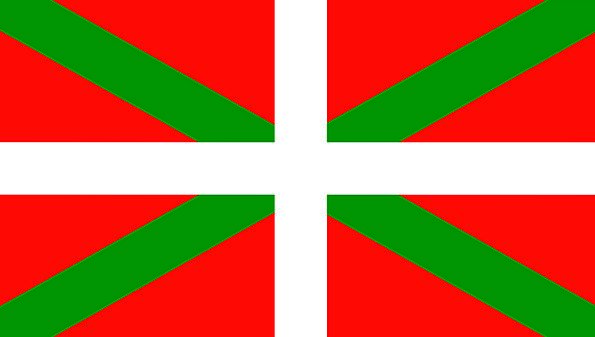 Basque Flag Area Spain Province Insignia Regional