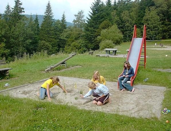 Playground Park Slide Transparency Sand Pit Nature