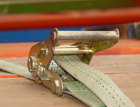Turnbuckle Notch Tension Belt Ratchet Brass Backup