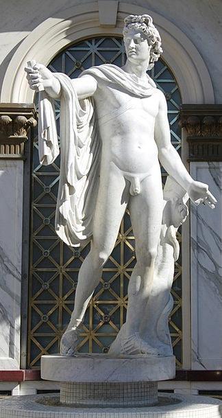 Statue Figurine Pebble Male Masculine Stone Roman