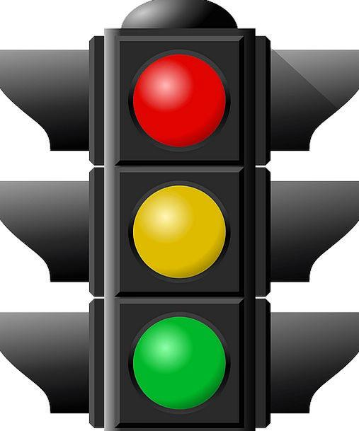 Traffic Light Red Light Traffic Bloodshot Transpor