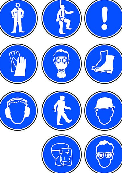 Safety Care Cap Boots Gumboots Hat Pictogram Hardh