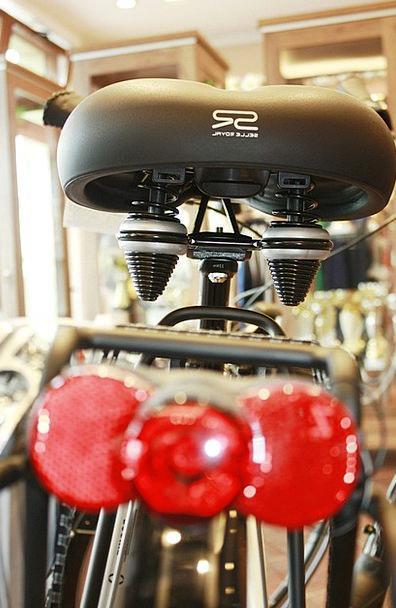 Bike Motorbike Convenience Suitability Seat Rowerk
