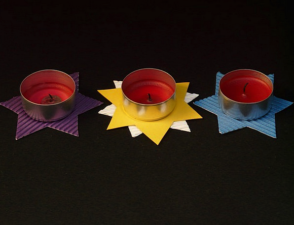Tea Lights Fiddle Star Interstellar Tinker Color D