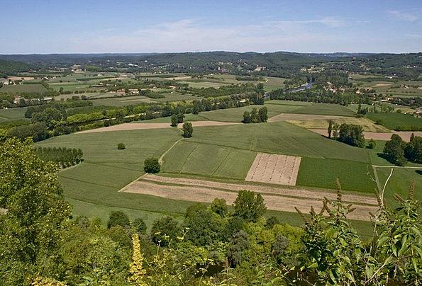 Dordogne Landscapes Nature Sky Blue France Rural C