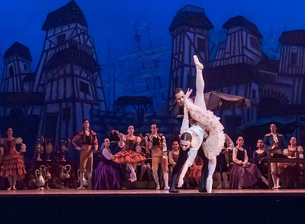 Ballet Dance Fashion Presentation Beauty Don Quixo