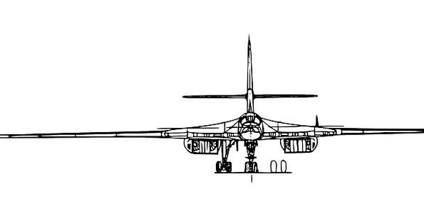 Tupolev Flying Ussr Aviation Russia Free Vector Gr