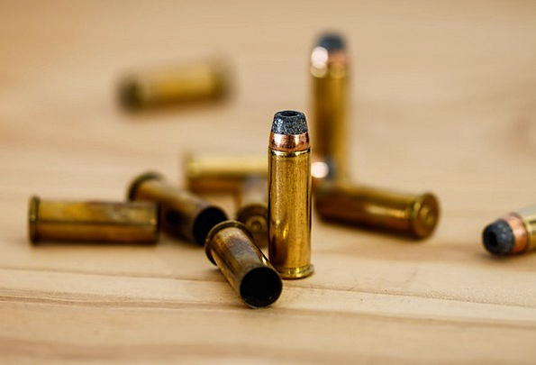 Bullet Shot Container Ammunition Cartridge Round C