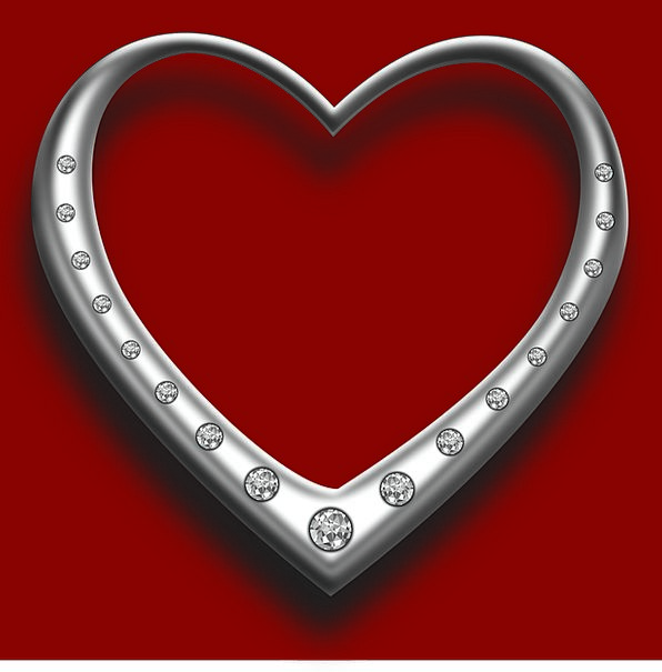 Heart Emotion Rhombuses Love Darling Diamonds Prec