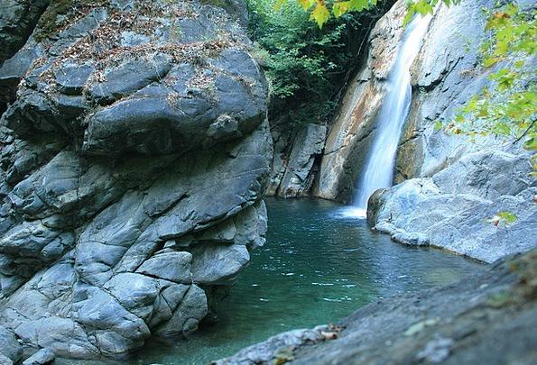 Mount Ida Landscapes Cascade Nature Water Aquatic