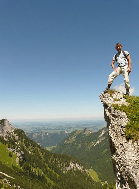 Mountain Crag Landscapes Mountaineering Nature Hik