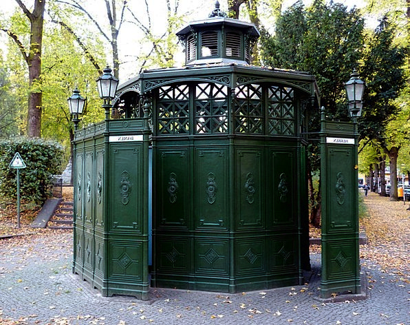 Toilet Lavatory Buildings Architecture Historicall