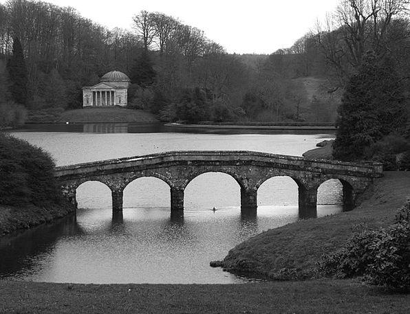 Stourhead Plot Gardens Parks Garden England