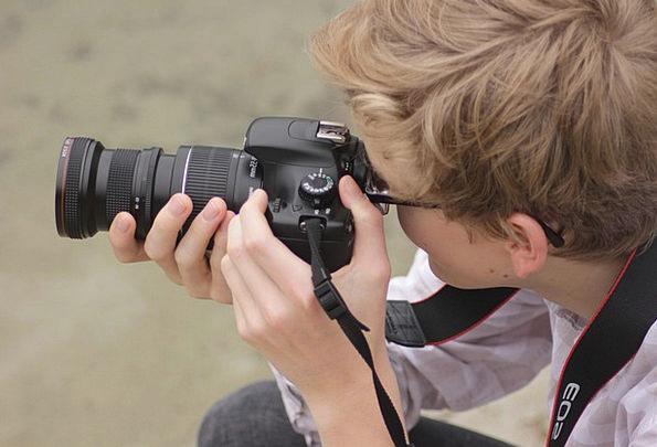 Photographer Paparazzo Man Gentleman Camera Record