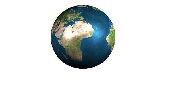 Earth Soil Sphere Continents Landmasses Globe Spac