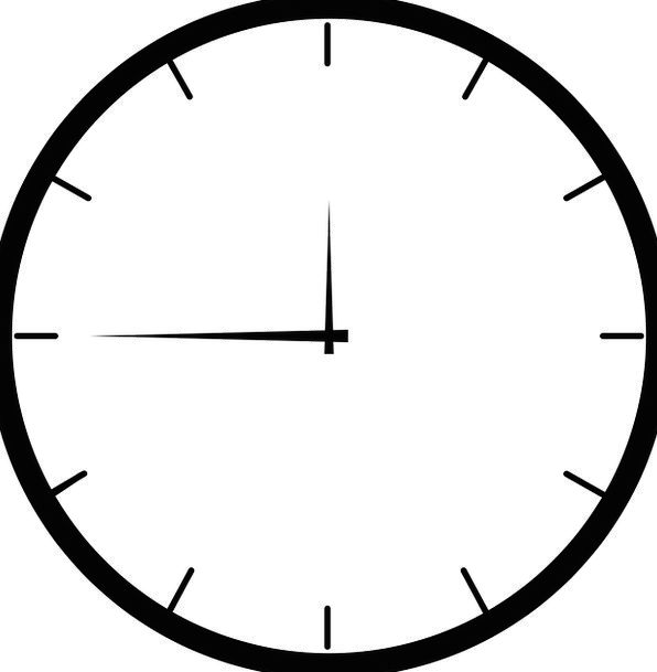 Clock Timepiece Period Hour Time Free Vector Graph