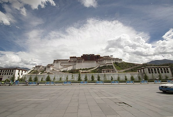 Palace Fortress Monuments Places Tibetan Tibet Tra