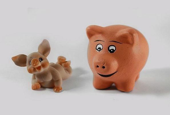 Pig Glutton Artificial Fig Luck Fluke Lucky Pig Lu